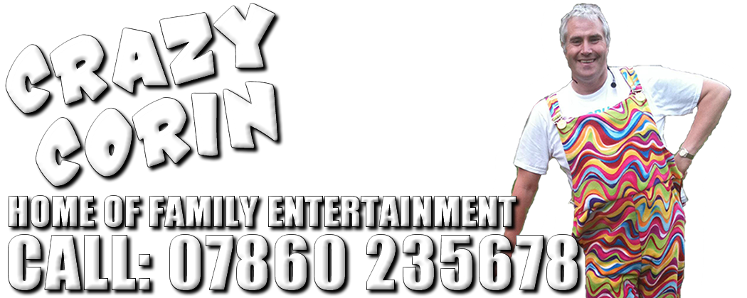 Crazy Corin Entertainments Children's magic show kids magic shows disco party norfolk suffolk london uk surrey